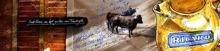 Les Alpilles, bulls, and pastis